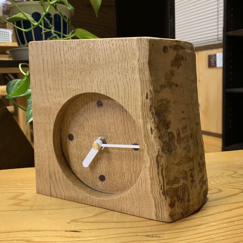 木の時計#3【岩手産くり】