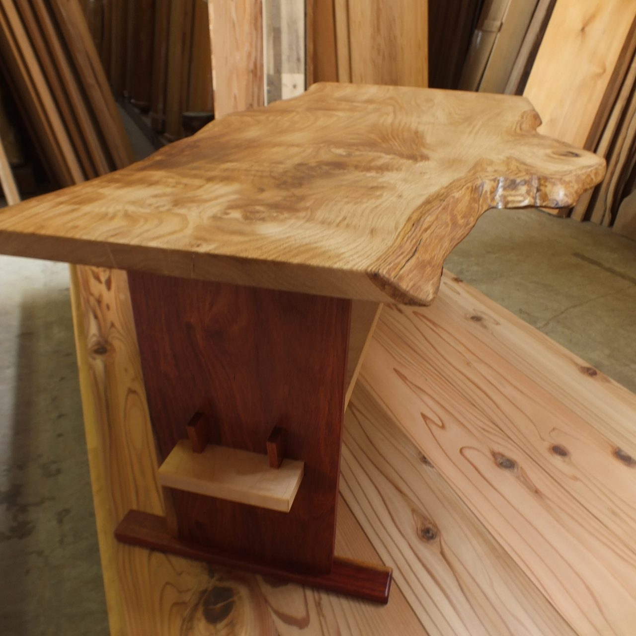 小さな栗【くり】ソファーテーブル