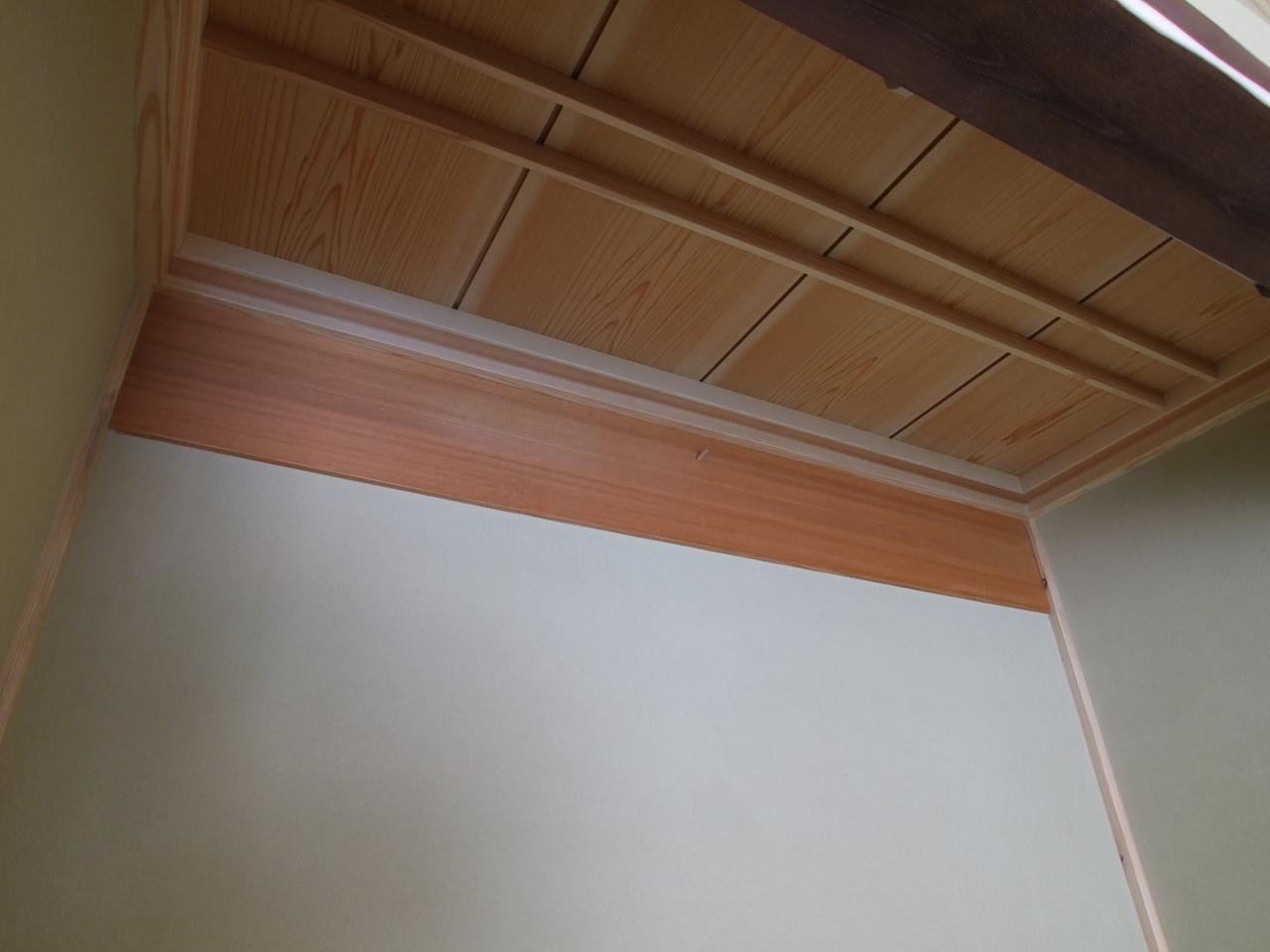床の間に、ひと味【織部板】織部板(おりべいた)の使い方事例